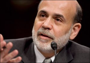 stock info trading news Fed outlook Intel Ben Bernanke