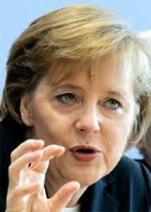 German import prices - Angela Merkel