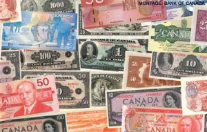 Intraday analysis; a pile of Canadian dollars