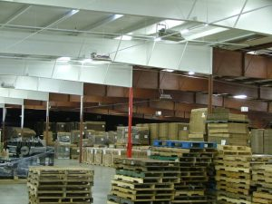 German factor orders - supplies in a warehouse