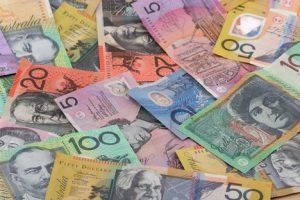 Intraday analysis - a pile of Australian dollars