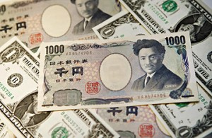 forex forecast - a heap of Japanese yen