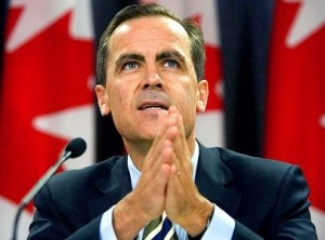 intraday analysis - BOC chief mark carney