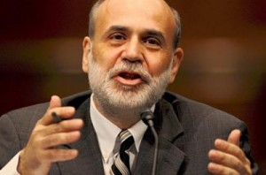 intraday analysis - Fed chief Bernanke