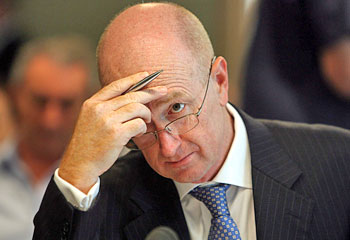 intraday analysis - RBA President Glenn Stevens