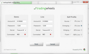 tradingwheels - screen 2 - forexnewsnow