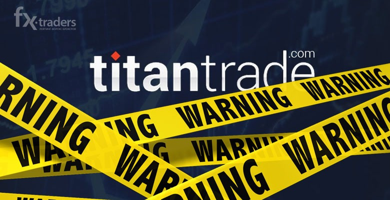 TitanTrade regulatory warning