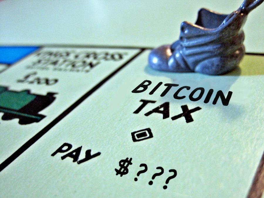 taxing bitcoin