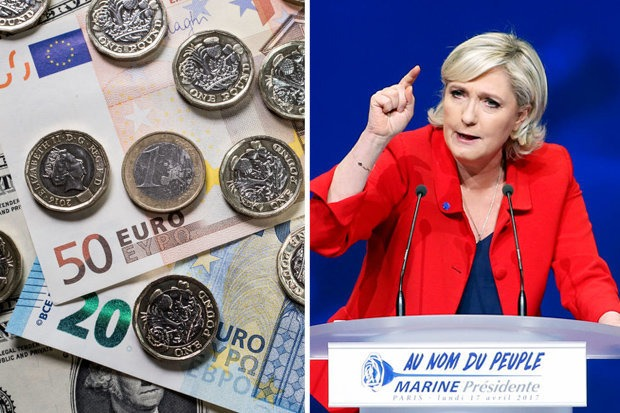 France elections affect the euro