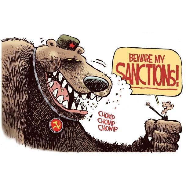 Ukraine sanctions on Russian