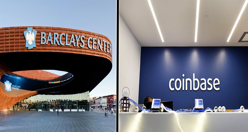 Coinbase and Barclays