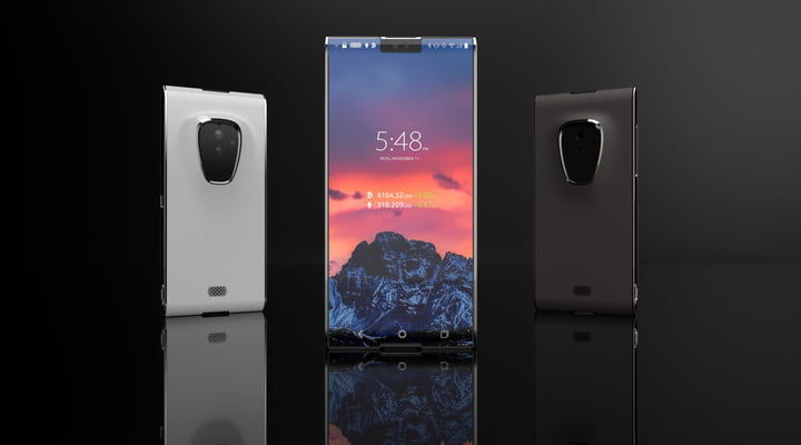 A smartphone by Sirin Labs
