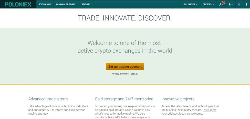 What is Poloniex Exchange?