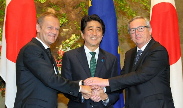 EU and Japan agree on a trade deal