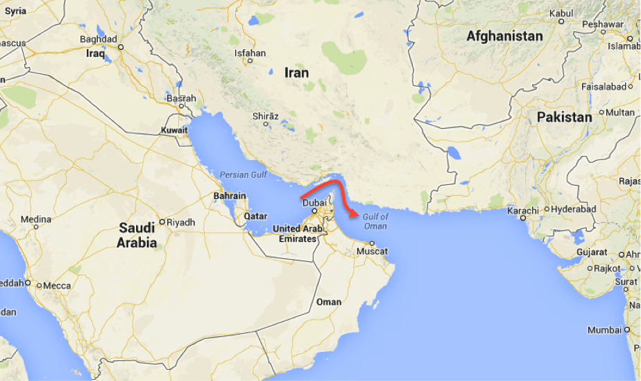 Iran threatens US with closing the Strait of Hormuz