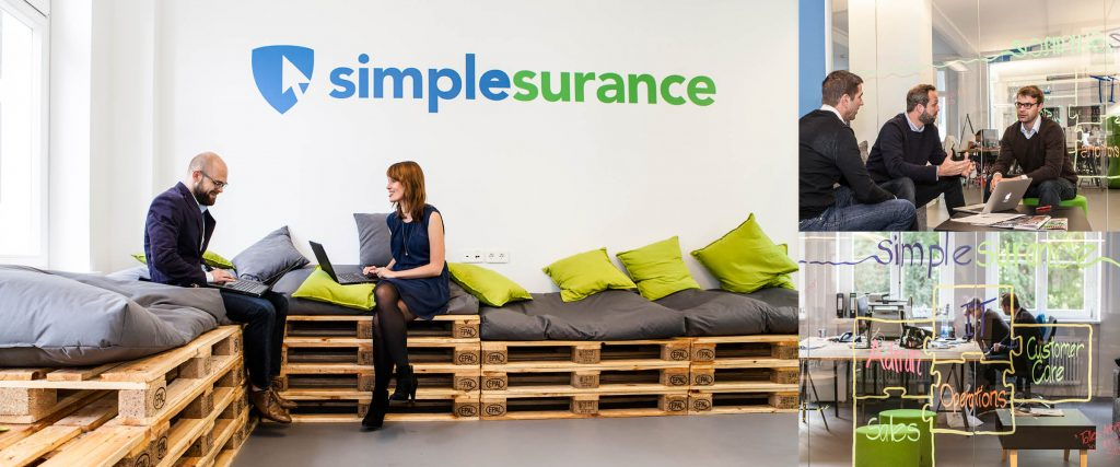 Simplesurance allows customers to purchase insurance at the point of sale