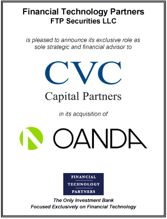 OANDA acquired by CVC