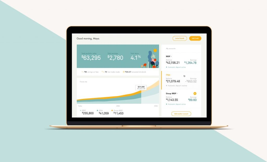 Wealthsimple offers investing, trading and saving tools to its customers
