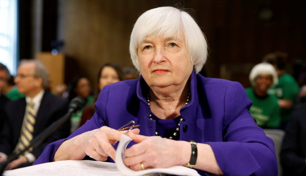 Janet Yellen discusses monetary policy, trade war, cryptocurrencies and more