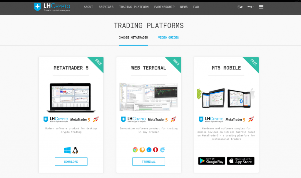 LH-Crypto Trading platform Review