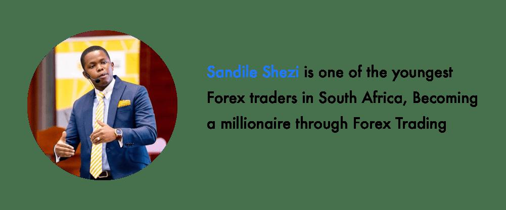 Sandile Shezi young forex traders
