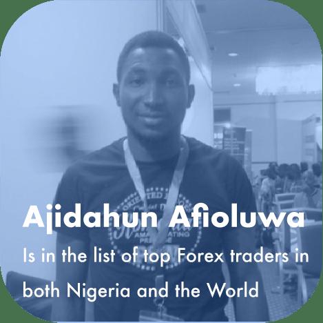 Ajidahun Afioluwa best forex trader in nigeria