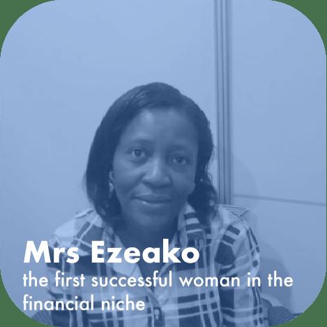 Mrs Ezeako female Forex trader