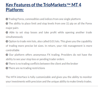 can TrioMarkets be trusted? No one knows the right answer