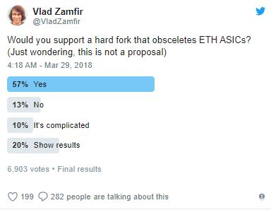 ETH will support ASIC mining with no issues