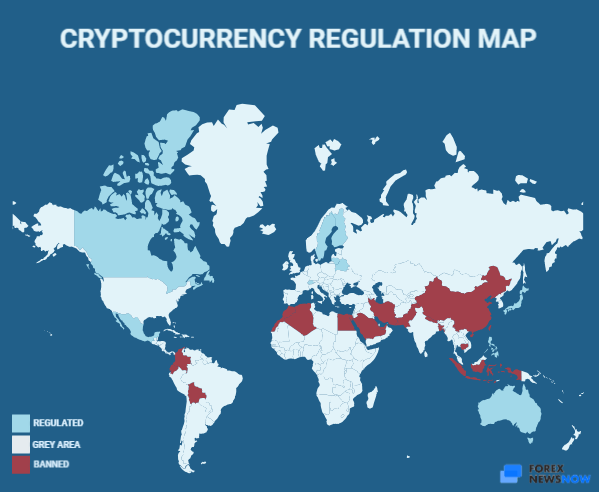 Cryptocurrency regulations around the world