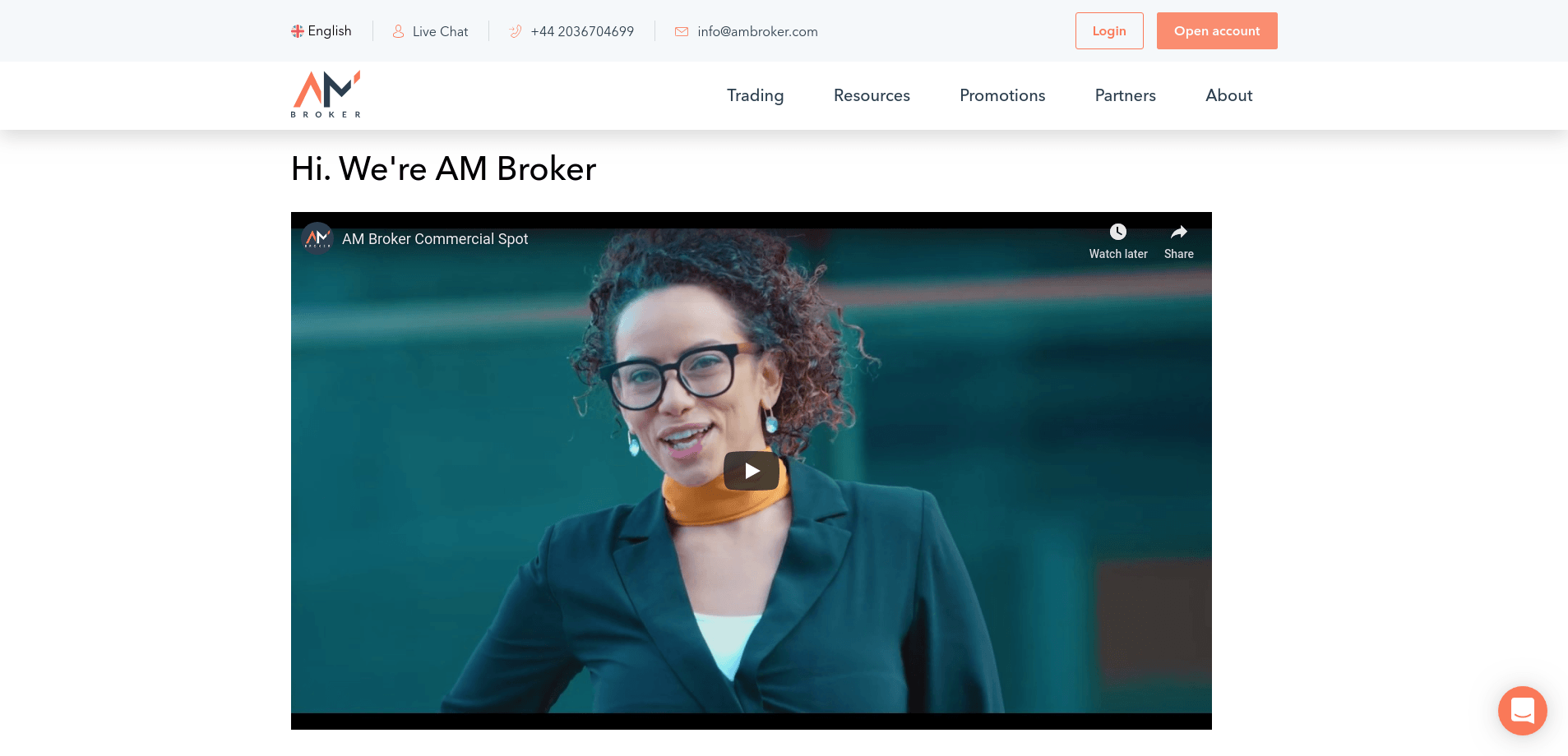 AM Broker review