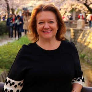Gina Rinehart is the richest woman in Australia
