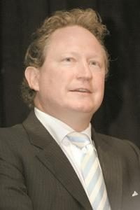Andrew Forrest one of the wealthiest people in Australia
