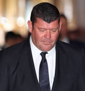 One of the richest man in Australia - James Packer