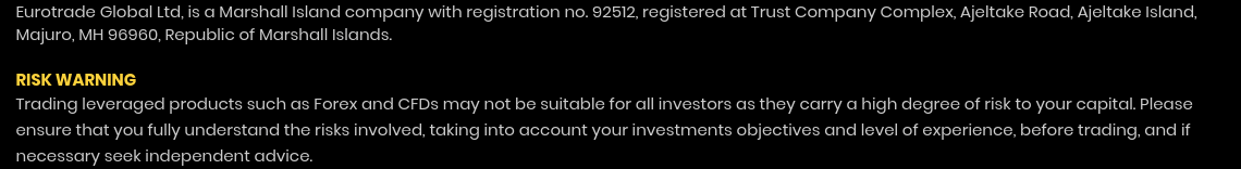 Eurotrader scam