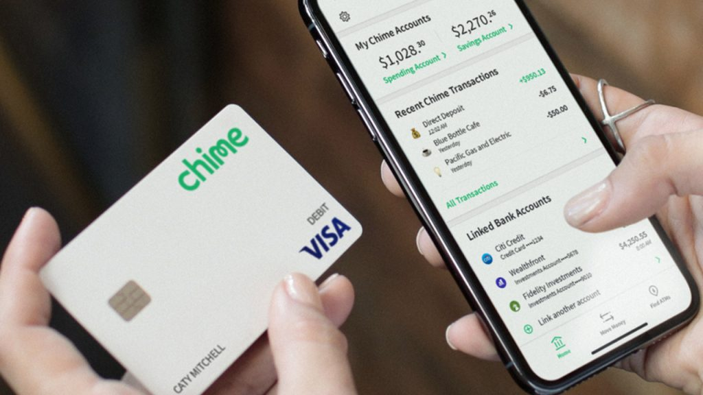 Chime, a bank without any branches, achieves a valuation of $5.8 billion