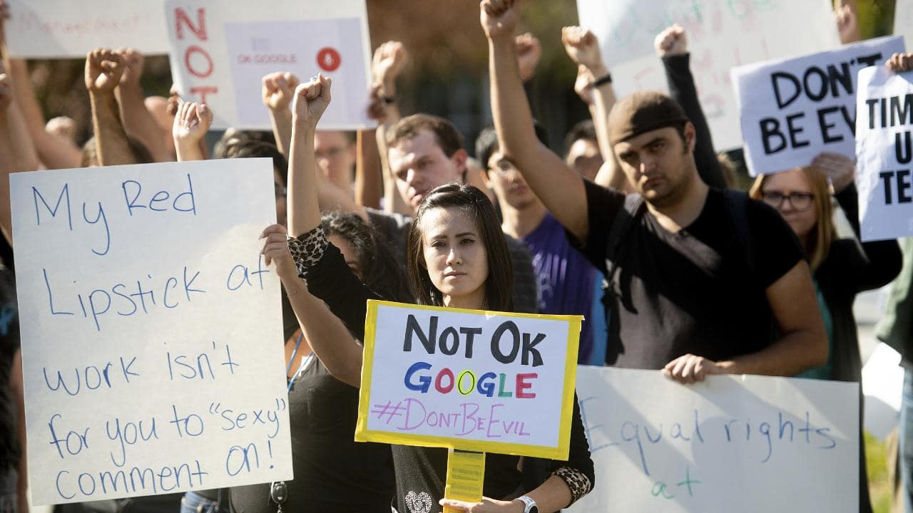 protests against Google