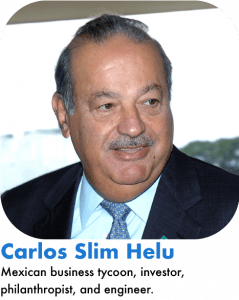 Carlos Slim Helu richest mexican in the world