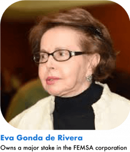 Eva Gonda de Rivera richest woman in mexico