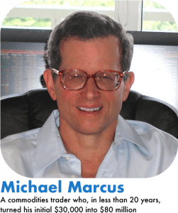 Michael Marcus success forex trading