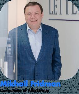 Mikhail Fridman russian millionaires