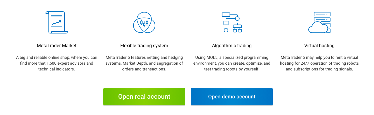 RoboForex trading platforms review